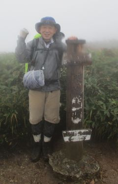 百名山「巻機山」(新潟) 登山・キャンプ