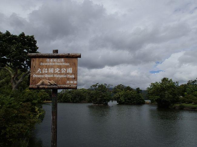 JR東日本がえきねっとで予約すると、東北・北海道新幹線の料金を半額で乗車出来るのを利用。<br />どうせなら北海道まで行ってしまえ。ということで、函館へ入り大沼公園、登別温泉、出来たばかりのウポポイへ行ってきました。