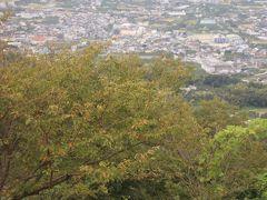 最初が峰展望台から実りの秋を望む