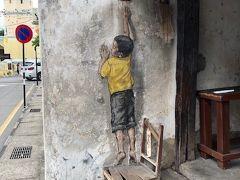 タイのソンクラーンを避けてストリートアートを見にペナン島へ