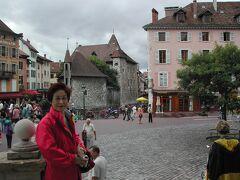 20004年フランス旅⑤シャモニー~アンシーあとはレンタカーでトウルノンへ蒸気機関車に乗りに行きます