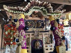 京のお祭り・番外編 「ずいき神輿」が150年ぶりに北野天満宮にお目見えしました