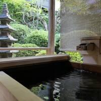 秋の別所温泉松茸の旅♪ Vol.6 ☆かしわや本店:美しい庭を眺めながら露天風呂♪