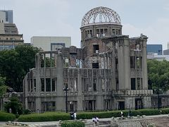 夫婦の夏休み!広島・兵庫・奈良に行ってきましたぁ~!1日目は原爆ドーム・厳島神社…そしてライトアップされた姫路城