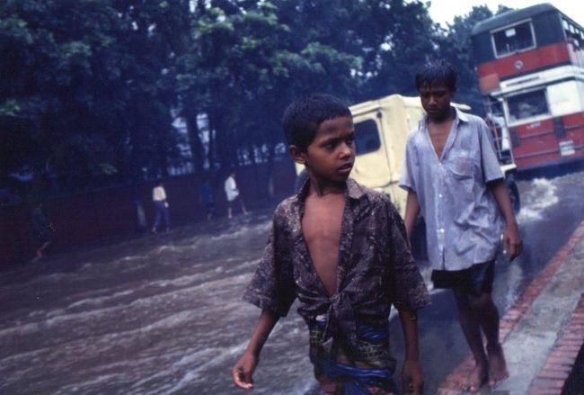 雨期のバングラデシュを旅しました。