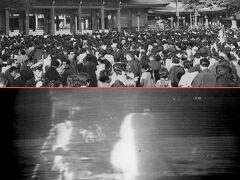 シリーズ昭和の記録No.29 明治神宮初詣、アポロ月面着陸