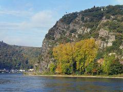 ドイツの魅力13日間旅行記②リューデスハイムから、ライン川下りとサンクトゴアール