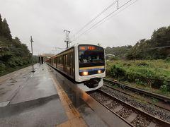 台風接近!しかし鉄道に乗りたいから千葉まで強行旅行。