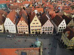 ドイツの魅力13日間旅行記④ハイデルベルグの朝の散歩と古城街道を、そしてローテンブルク観光