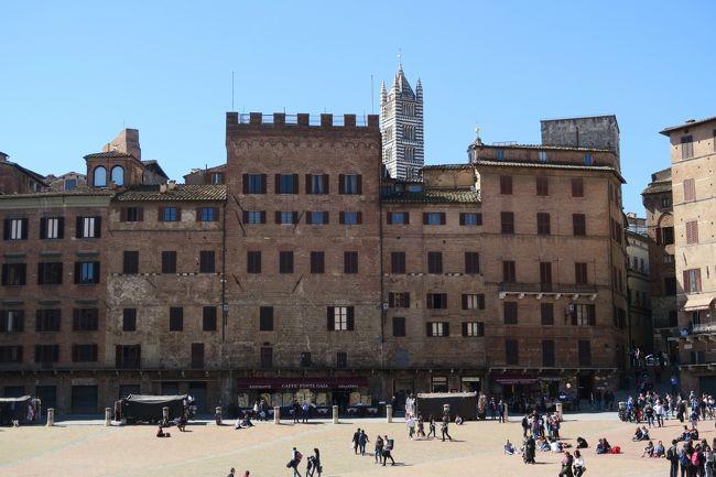 シニア夫婦の欧州5カ国ゆっくり旅行30日 (25)シエナから午後にヴェネツィアへ移動します(3月23日)