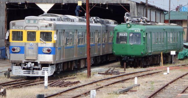 熊本電鉄上熊本線で北熊本に着いた後、北熊本駅から見える熊電を撮影して熊本電鉄本線に乗って御代志に向かいました。