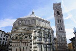 フィレンツェ芸術巡り⑤洗礼堂、ジョットの鐘楼