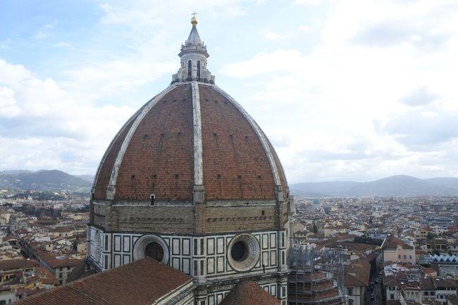 フィレンツェ芸術巡り⑥ドゥオーモ(花の聖母大聖堂)