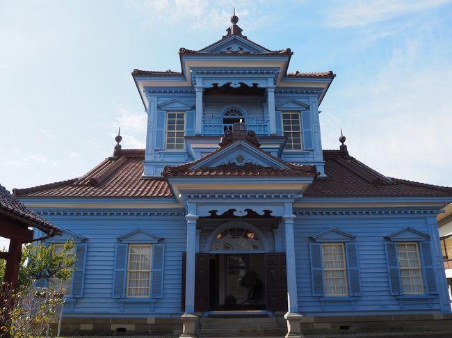 """初めての観光列車""""KAIRI""""が目的の旅!<br />実は鶴岡って知らなくて新潟県だと思っていました(;^_^A<br />観光地だと思っていなかったのですが、意外に見学したいところがたくさんあり、もっと鶴岡で時間を取るべきだったと反省です。<br />鶴岡では致道博物館と大宝殿を見学、その後レンタカーで酒田に移動です。<br />酒田は、おしんの舞台になったところだと知っていたので是非山居倉庫は行きたいと思っていました。<br />全てが素敵だったけど翌朝、急遽立ち寄った""""出羽の雪酒造"""" が一番楽しかった?!ここのお酒は美味しいヽ(^。^)ノ<br /><br />今度はもっとゆっくり行きたいです。<br />*解説などは各HPを参考にさせていただいております。"""