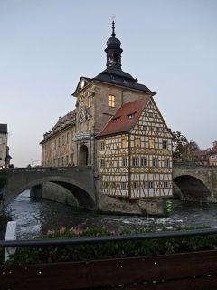 ドイツの魅力13日間旅行記⑬バンベルクの観光2、夜の街歩き