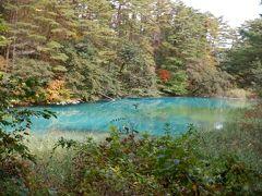 日帰り裏磐梯☆紅葉とエメラルドグリーンの青沼(五色沼)