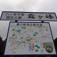 蓼科リベンジ山旅・その1.月例登山報告/霧ヶ峰(車山)。