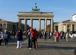 ドイツの魅力13日間旅行記⑲ベルリンの観光1、ブランデンブルク門からイーストサイド・ギャラリー