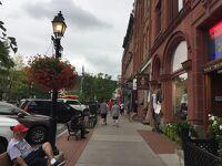 ニューヨーク州 クーパーズタウン ー 繁華街のメインストリートを街歩き
