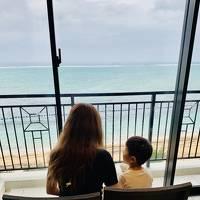2020年10月4歳児と沖縄♪4日目♪雨の日 ハレクラニで優雅なひと時