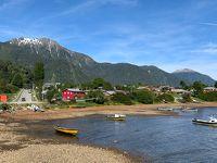 世界一周 チリ コジャイケ~チロエ島 カストロへフェリー利用でアクセス