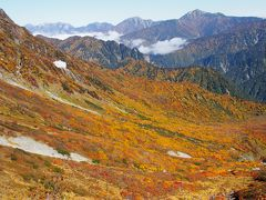 2020秋 立山ロープウェイの下に広がる錦秋の紅葉トンネルを歩く秋の山旅(室堂~東一ノ越~黒部平)