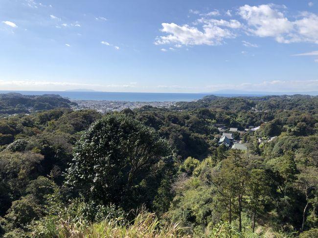 初秋の鎌倉アルプス・天園ハイキングコースを歩いてきました