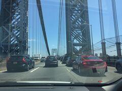 ニューヨーク州 マンハッタン ー ジョージワシントン橋をドライブ