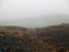 Day2-3 Latvijas Lācisの大冒険♪ 日本のアルプスをハイキング(雨と霧の八方池)
