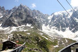 アルプス5大名峰と絶景列車の旅 20 エギーユ・デュ・ミディ展望台に上ろう