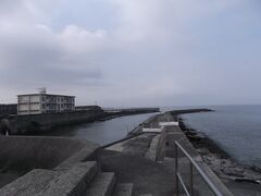 大野漁港の様子を見に行く3と4と5