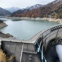 初冬の立山~黒部湖~称名滝