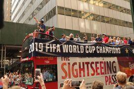 '19サラリーマンでも行けるアメリカ2「またまた来ましたニューヨークで、たまたま世界一パレードに遭遇編7/9夜~7/10朝」