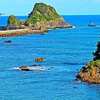 鴨川-2 鴨川松島-弁天島-前原海岸 風光明媚なあたり ☆自転車を借りサイクリング