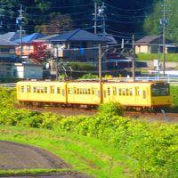 三岐鉄道北勢線の黄色い電車が撮りたくて阿下喜駅まで行きました。何とか撮れて最後の乗車です。