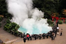 GOTOトラベル北九州の旅・・別府温泉「海地獄」を訪ねます。