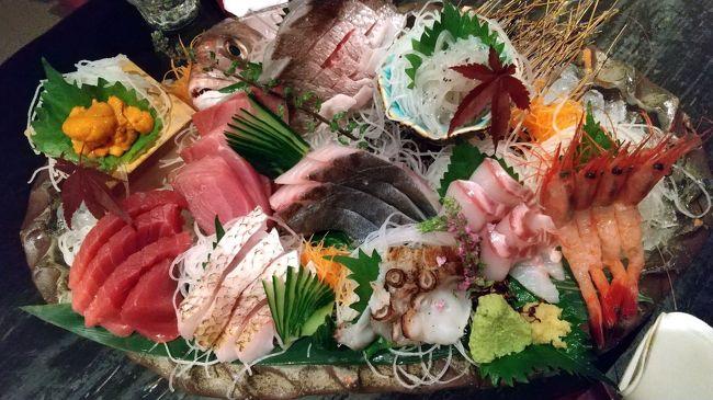 福島 紅葉・ゴルフ旅行の帰り道、新潟市内で一泊したホテルと居酒屋の報告です。<br /><br /> 「ホテルオークラ新潟」の老舗ホテルらしい接客、居酒屋「海老の髭」の日本海産の魚介を集積した美味食材…。実は新潟に泊まるのは初めてだったのですが、また是非訪れたいと思わされた訪問でした。