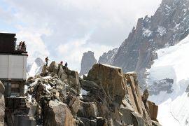 アルプス5大名峰と絶景列車の旅 21 3度目の正直となったかモンブラン観光