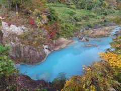 晴れおじさん「秋だ、紅葉だ、温泉だ」 (山王山温泉)