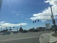 アリゾナ州 ブルヘッドシティ ー 68号線でラフリンへ向かう