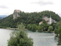 ドロミテ・スロベニア・クロアチア の旅日記  2/7  スロベニア編   ブレッド湖 ⇔ ボーヒン湖
