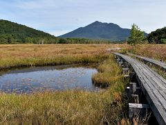 草もみじと羊草紅葉が始まった初秋の尾瀬へ NHK撮影隊も来訪中