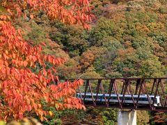 2020 紅葉散歩(湯西川温泉周辺で撮鉄に挑戦)