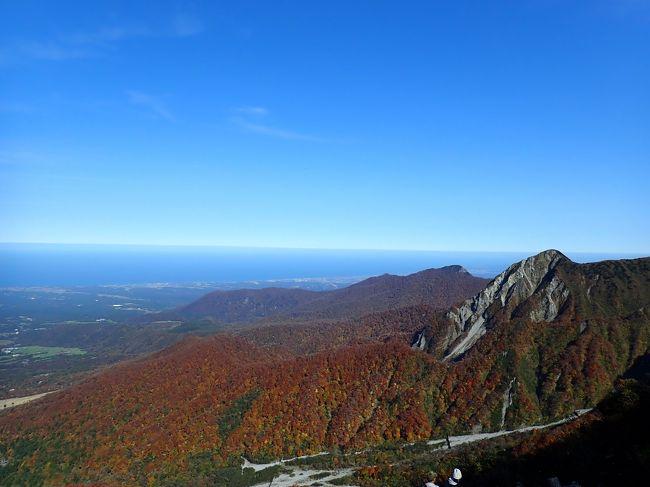 大阪の友とともにコロナになって以来さらにはまってる登山。秋にアルプス狙いたいねといいつつもお互いの日程があうのが10月最後の週末。。。アルプスは調べても降雪の恐れがあり、行き詰っていた時に、ふと南アルプスの天然水のコマーシャルを思い出した。宇多田ヒカルが大山に行っていたはず、そこどう?と打診したところ、友から即答でOKと。<br /> 今はGOTOで安く行ける時期。ホテルの部屋も別々にし、現地集合することに。<br /><br /> ☆10/30 ANA383 羽田9:15 - 米子 10:40 ホテルハーベストイン米子泊<br /> ★10/31 ホテルハーベストイン米子泊<br /> ☆11/1  ANA390 米子20:55 - 羽田 22:15