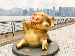 デモの谷間に前乗り香港街歩き