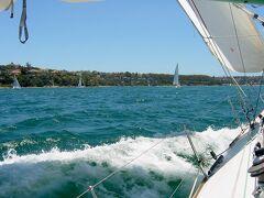 シドニーハーバーのヨットセーリングで初めてのクルー体験 (Yacht sailing in Sydney harbour)