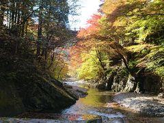 紅葉の古峯神社+大芦渓谷(白井平橋)