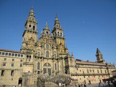 北スペインをサンティアゴへ + 個人旅行の旅日記  12/20  サンティアゴ・デ・コンポステーラ