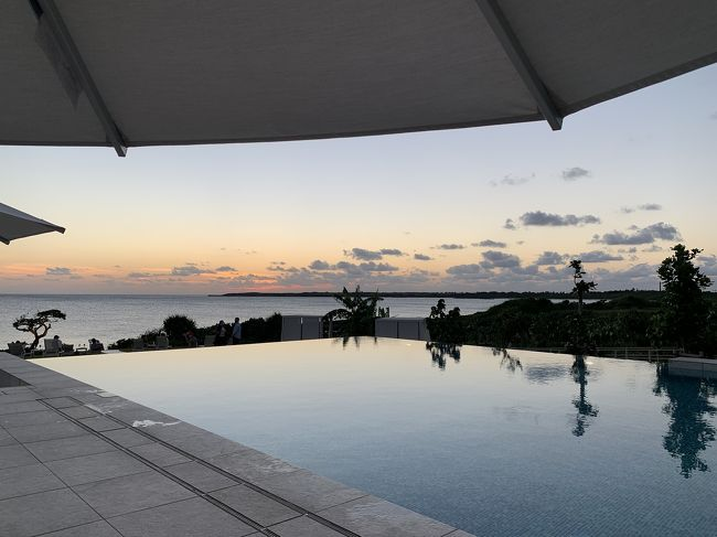 伊良部島での四つ星ホテルでの滞在