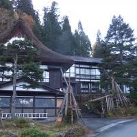 秋の山形、福島、宮城 秘湯と絶景ラインを巡る旅 4.茅葺屋根の宿が残る 白布温泉